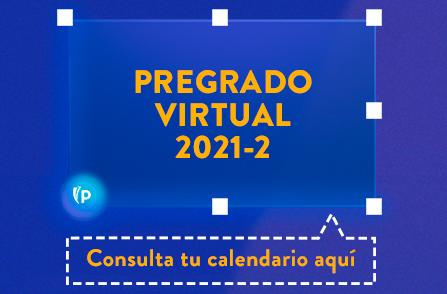 Botón Consulta tu Calendario Aquí - Pregrado Virtual 2021-2