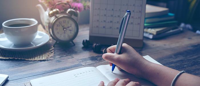¿Cómo hacer un horario personal?
