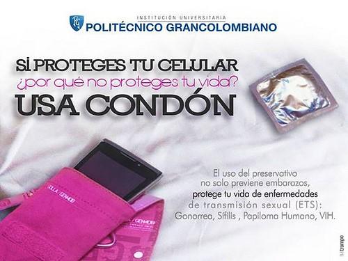 Recomendaciones del Poli sobre usa condón