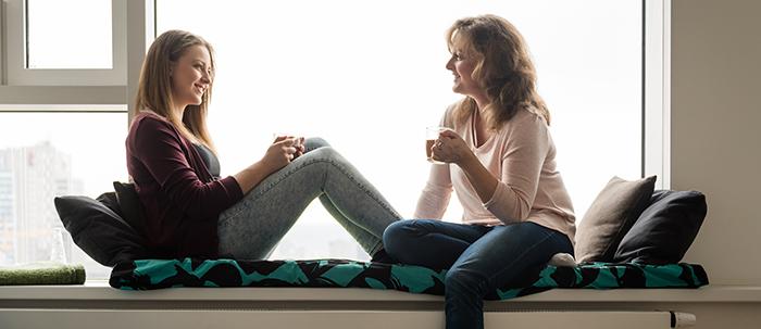 Conversaciones frecuentes entre padres e hijos