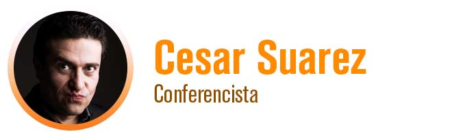 Cesar Suarez - Conferencista