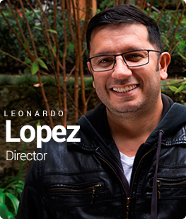 Leonardo López.