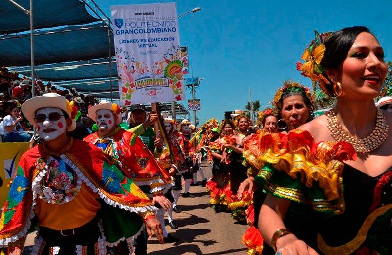 El Poli presente en el Carnaval de Barranquilla