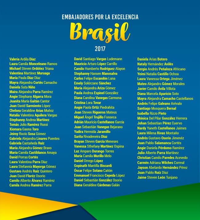 Embajadores por la Excelencia Brasil 2017