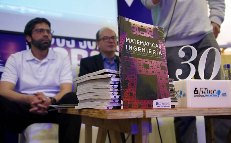Matemáticas para ingeniería - Lanzamiento FILBO 2017