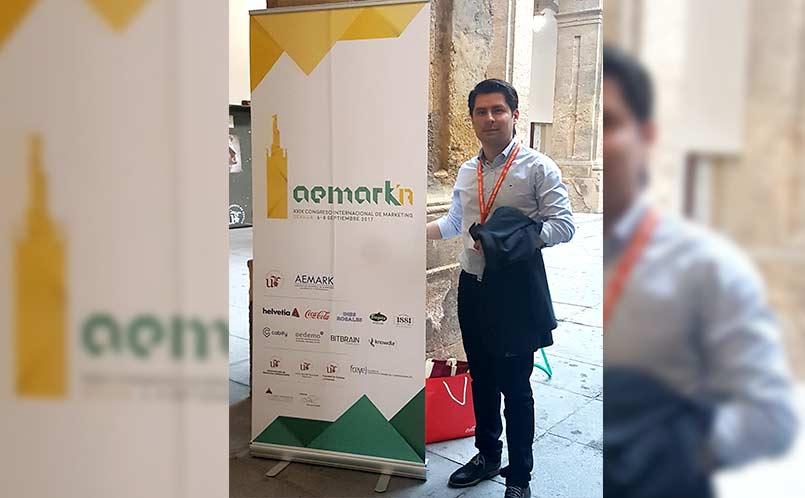 El programa de Mercadeo y Publicidad estuvo presente en el XXIX Congreso Internacional de Marketing AEMARK 2017