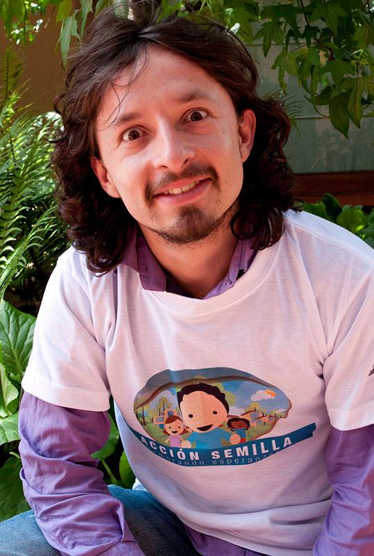 Andrés Alfaro - Gestor de Acción Semilla