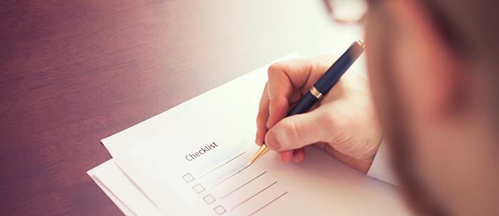 Crea una lista de lo que quieres y compárala con estos consejos