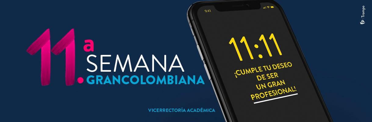 ¡Llega la edición 11 de la semana grancolombiana!