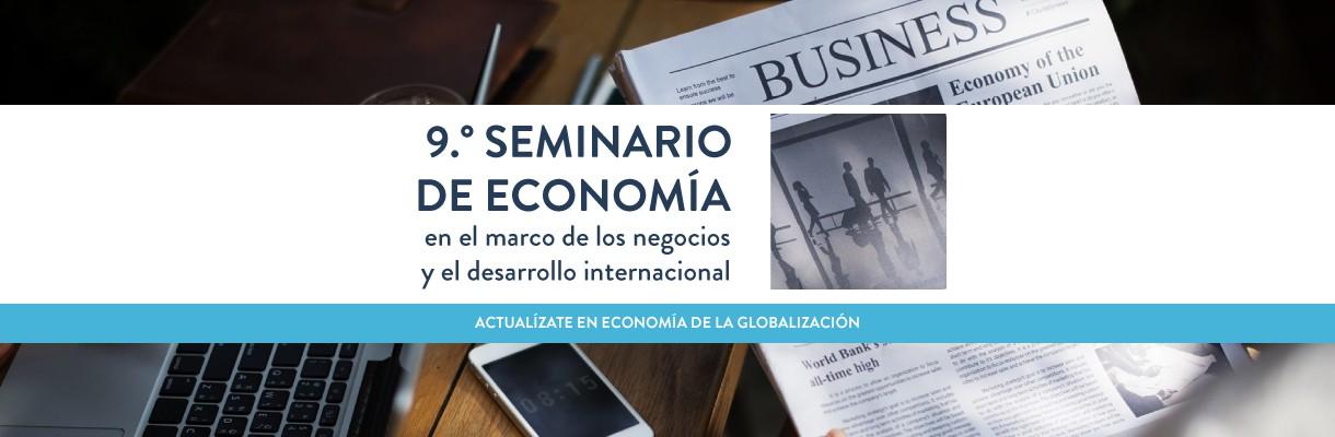 Noveno seminario de economía para negocios