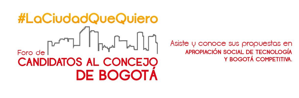 Candidatos al Concejo de Bogotá