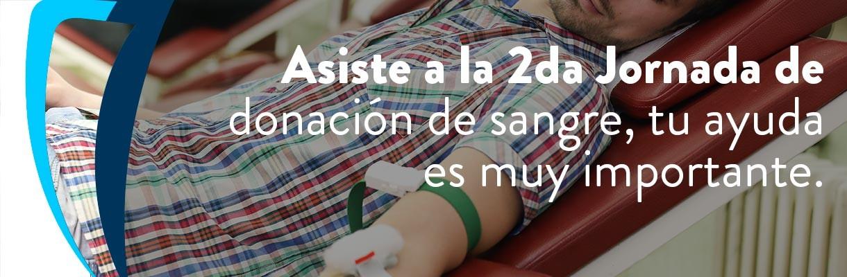 2da Jornada donación de sangre