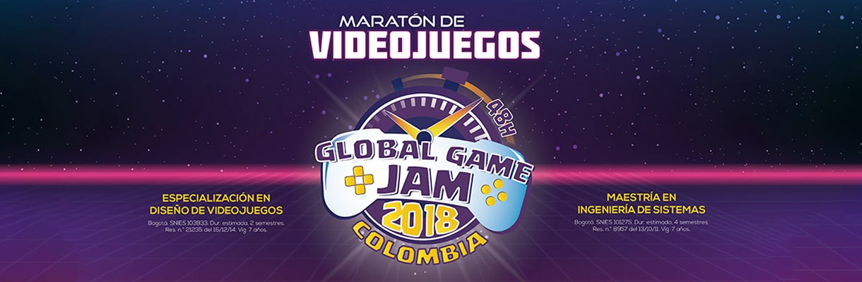 ¿Aficionado a los videojuegos? Participa en el Global Game Jam