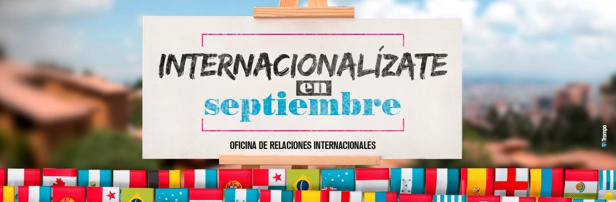 Internacionalízate en septiembre