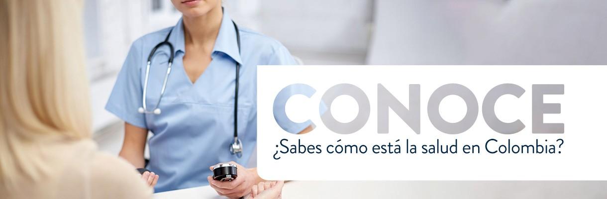Charlemos un rato sobre de la salud en Colombia