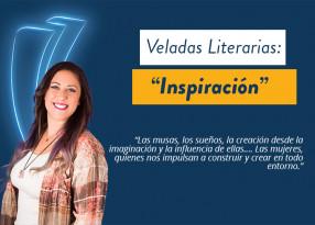 Portada velada literaria inspiración