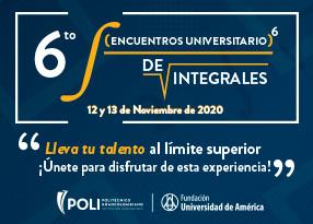 Sexto Encuentro de Integrales