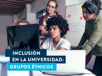 Inclusión en la universidad: grupos étnicos