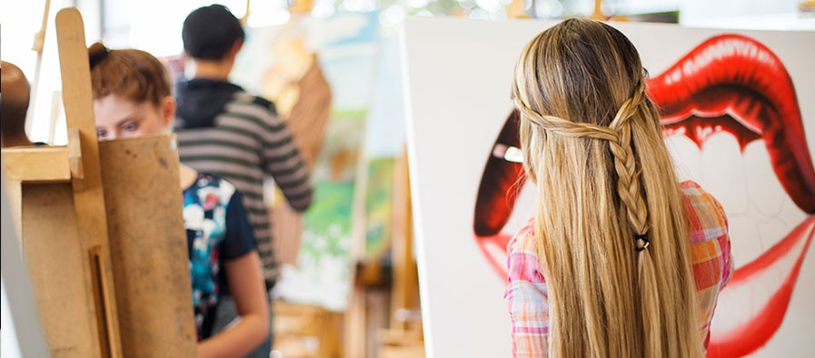 Clases de Pintura en el Campus del Poli