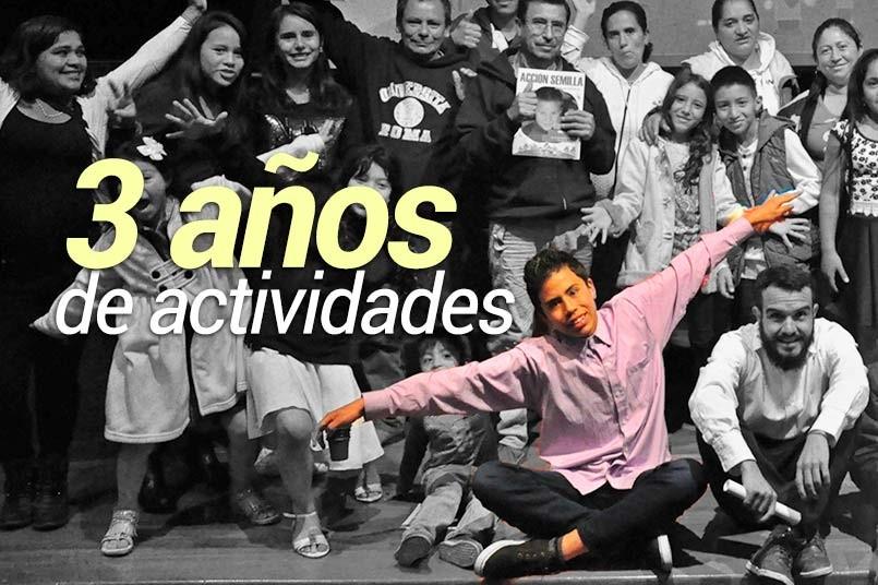 El proyecto de inclusión social realizado para niños y niñas de nuestro barrio vecino, Bosque Calderón