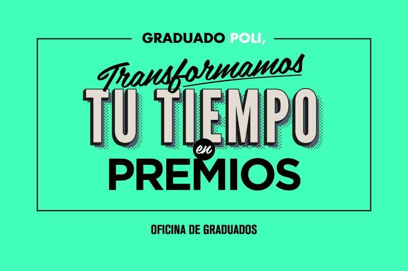 Graduado, ¡gracias por volver!