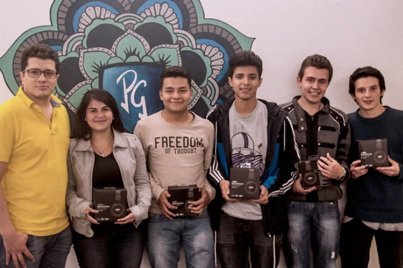 Los grancolombianos ganadores