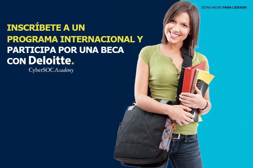 Participa por una beca Deloitte