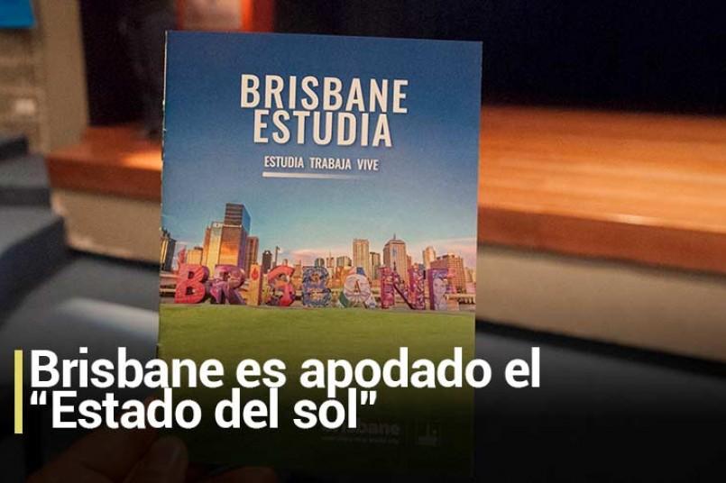 """Brisbane es apodado el """"Estado del sol"""""""