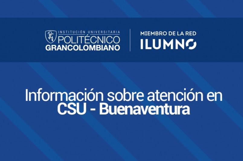 Suspensión de clases CSU - Buenaventura