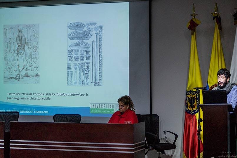 Arquitecto Oscar Perez y Mireya Barón, líder Gruplac CEC
