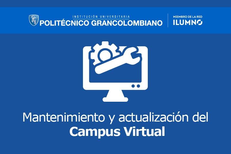 Mantenimiento del Campus Virtual