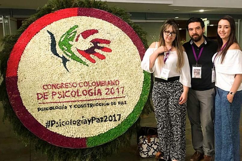 El Poli, presente en Congreso Colombiano de Psicología 2017