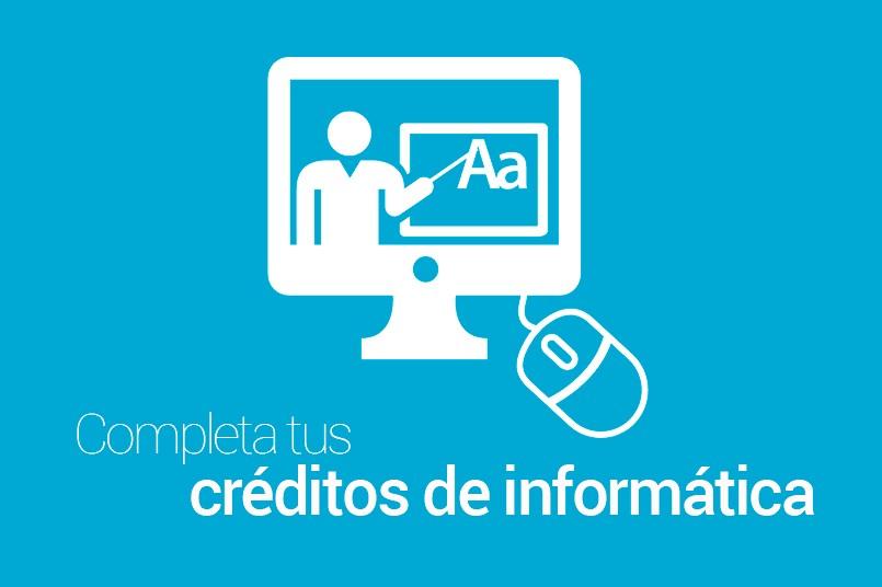 Completa tu requisito de reconocimiento de créditos de informática
