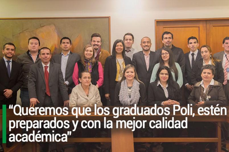 Un encuentro de #GraduadosPoli