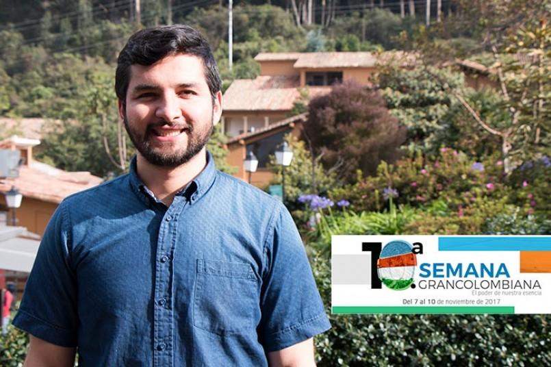 docente de la Facultad de Ingeniería y Ciencias Básicas, Diego Oliveros