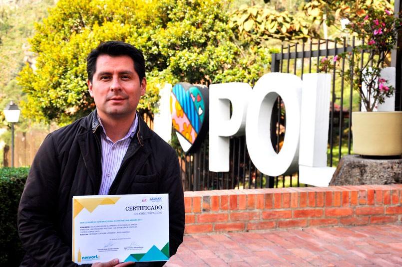 Docente Grancolombiano se destaca en congreso internacional