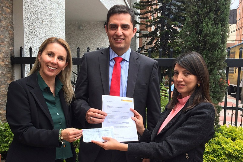 Donación Banco Pichincha