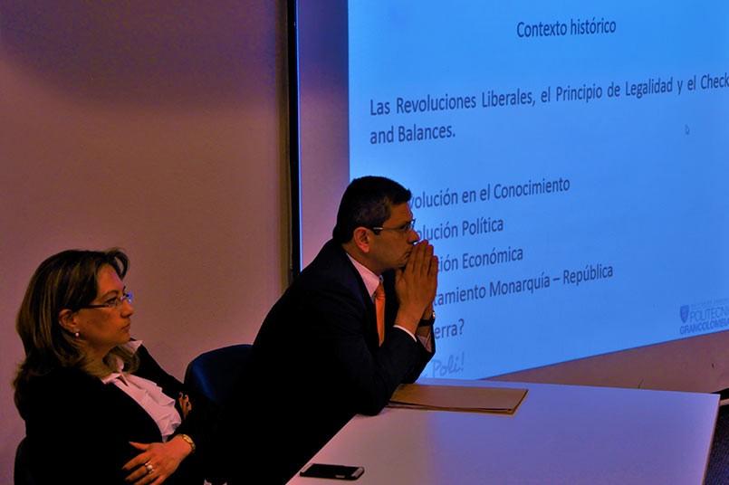 Dr. Leonardo Acevedo Valencia, Dra. Adriana Carolina Castro