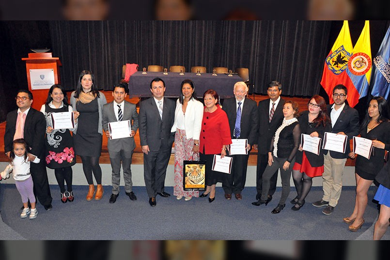 Entrega de certificados diplomado