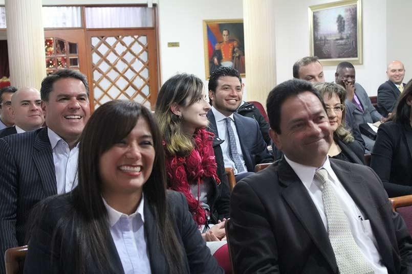 Mónica Fernández, Organizadora del evento y Directora Departamento Derecho y Ciencia Política