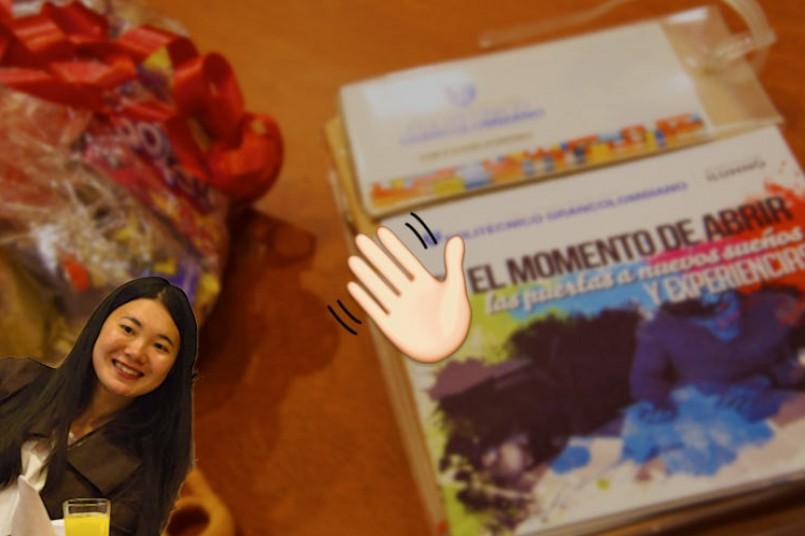 Durante su despedida, los alumnos extranjeros recordaron sus experiencias más memorables y sus anécdotas con la comida