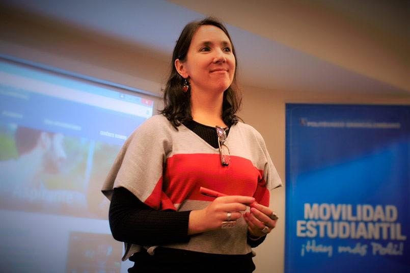 Marcela Otero Coordinadora del Departamento de Movilidad