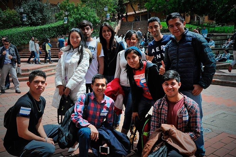 Los alumnos provenientes de universidades de México, Argentina, China, Trinidad y Tobago, Austria y Orlando, entre otros países, se unieron a las actividades lúdicas, organizadas en el Poli