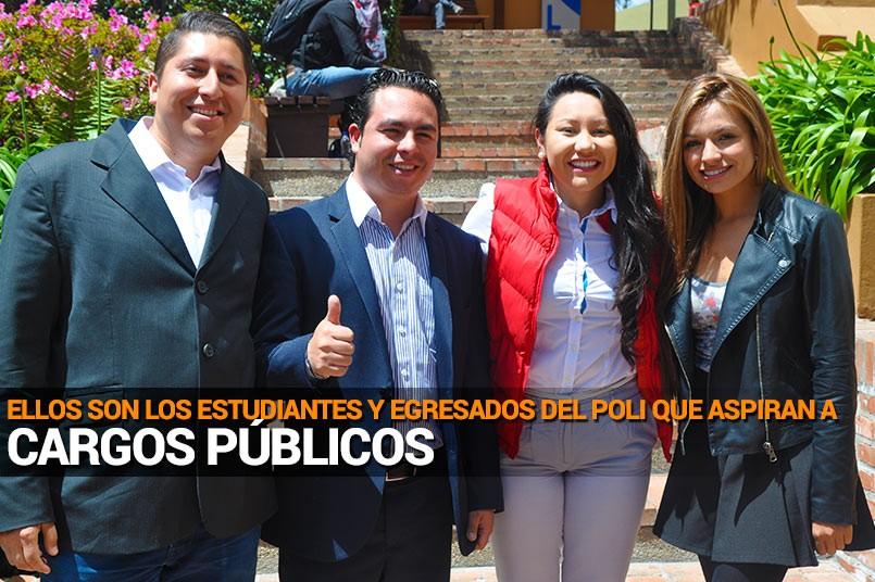 Grancolombianos que aspiran a cargos públicos, este 25 de octubre