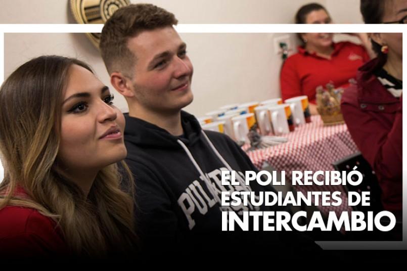 EL POLI RECIBIÓ  ESTUDIANTES DE INTERCAMBIO
