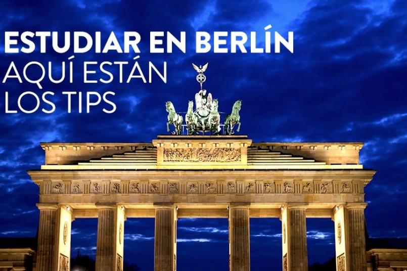 Estudiar en Berlin, aquí están los tips
