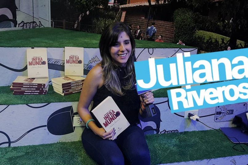 Juliana Riveros , Autora del libro