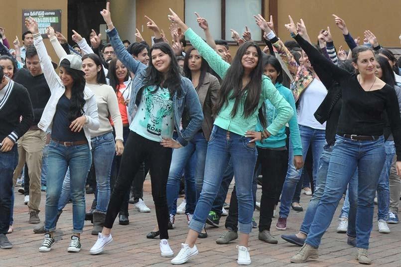 Flashmob en el Poli