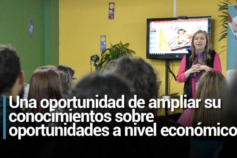 Una oportunidad de ampliar su conocimientos sobre oportunidades a nivel económico