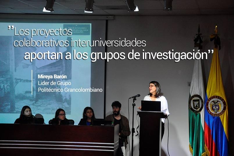 Docente Maria José Casasbuenas, Ana Diesch Lider Gruplac Habitat Sociocultural, Prof. Oscar Mauricio Perez y Mireya Baron Lider CEC